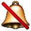 :no_bell: